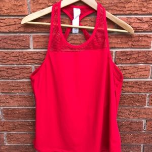 Fabletics Sol Tank Red Size Large